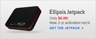 Get the $.99 Verizon Ellipsis Jetpack. New 2 year activation required.